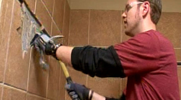 How to Install and Remove Ceramic Wall Tile